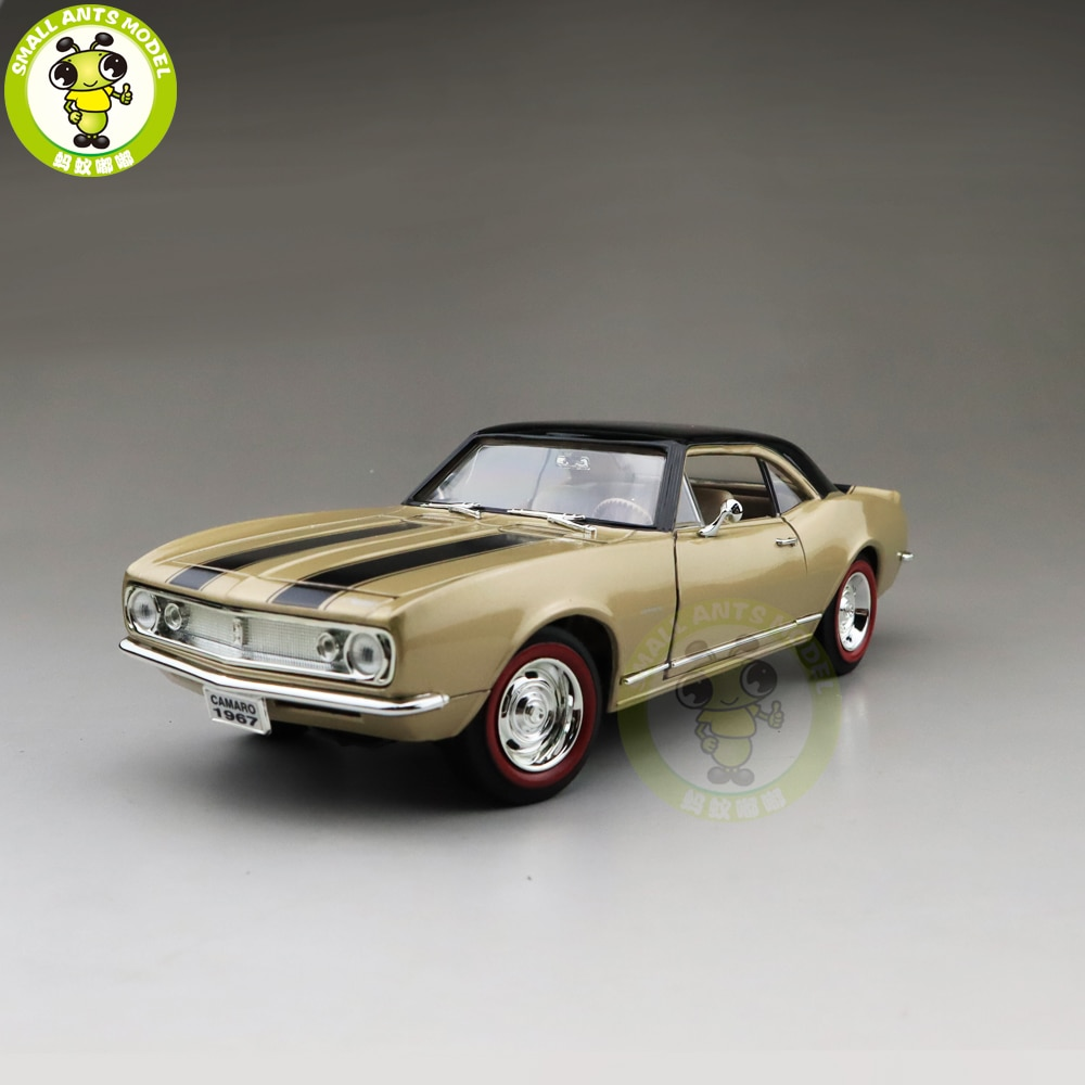 1/18 1967 Chevrolet CAMARO Z28 FIRMA DE CARRETERA modelo Diecast coche juguetes niños niñas regalo