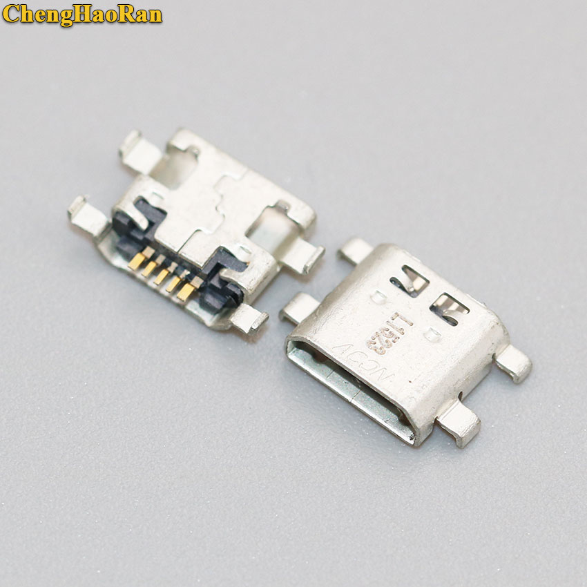 Chenghaoran 2-10 peças para huawei ascend honor 6 plus 7 5x jogar y6 pro 5S play micro usb porto de carregamento jack conector tomada