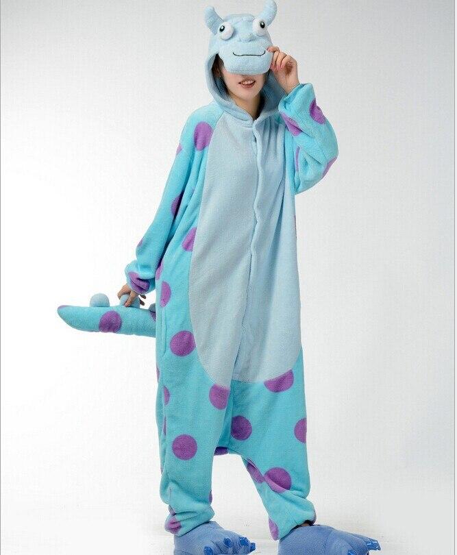 Pijamas para hombre de dibujos animados de vaca azul de animales adultos Onsie pijamas C005 S/M/L/XL/ XL
