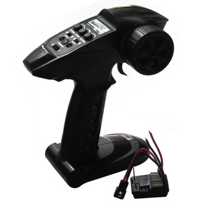 2in1 2.4G Sports 2CH Transmitter Receiver Brushed 20A ESC Radio Control System