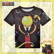 Japonais Anime assassinat classe Koro Sensei T-shirt Polyester T Shirt été actif Otaku hommes femmes vêtements