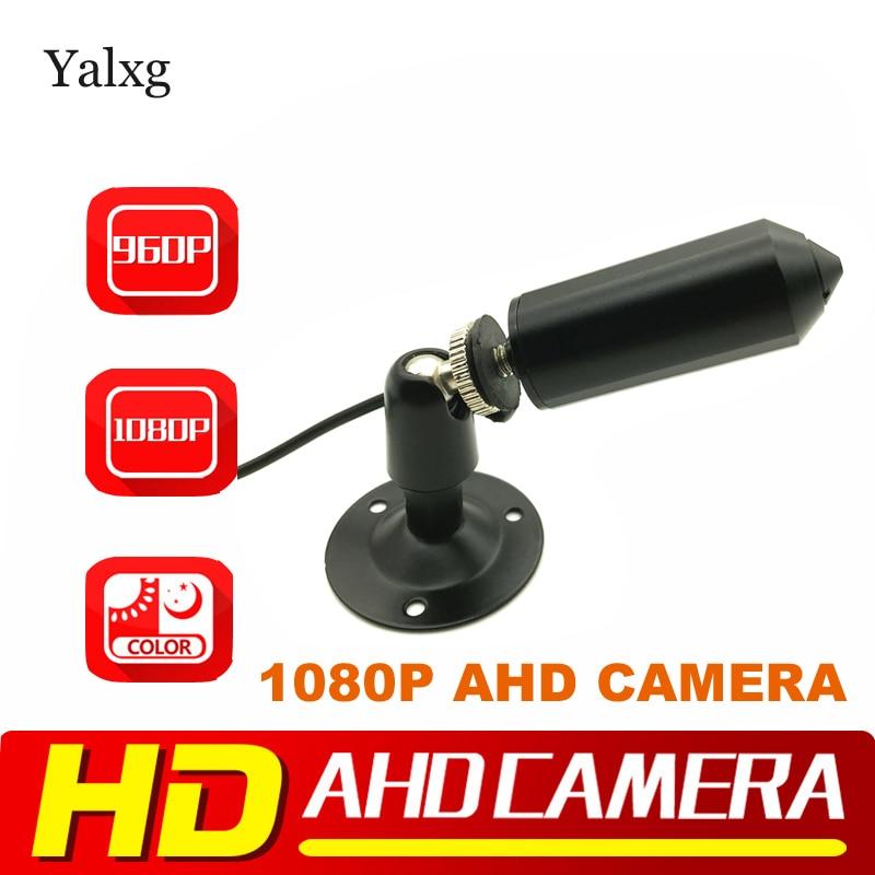 Bala 1080P 2MP AHD Full HD/TVI/CVI/CVBS 4 en 1Mini cámara de Video cable SONY307 Chip estrella luz 0.0001Lux CCTV cámara a Color