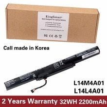 KingSener Korea Cell L14M4A01 bateria do Lenovo IdeaPad V4000 Y50C Z41 Z51 Z41-70 Z51-70 L14M4E01 L14S4A01 L14L4A01 L14L4E01