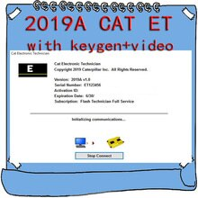 2019A Electronic Technician ET 2018C Keygen+Software for CAT ET3 V1.0 Keygen Come with Install Video