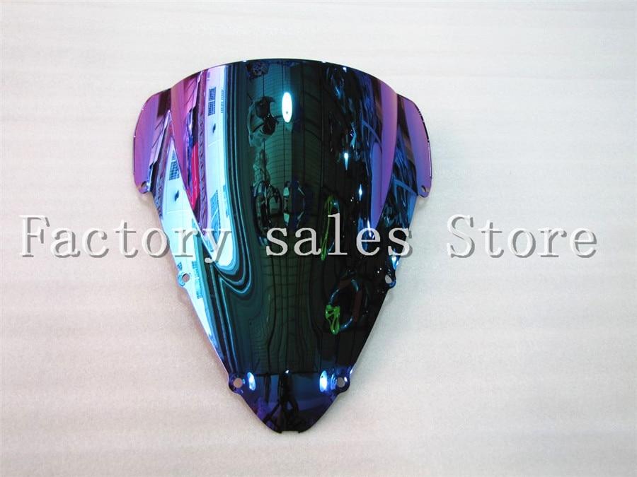 Горячая продажа для Honda CBR 600 F4I CBR600 f4i 2001 2002 2003 2004 2005 2006 2007 Иридиевый щит от ветра лобовое стекло двойной пузырь CBRF4I