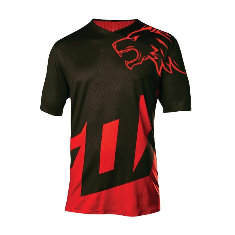 Camiseta de ciclismo enduro mx para motocross, ropa transpirable de secado rápido...