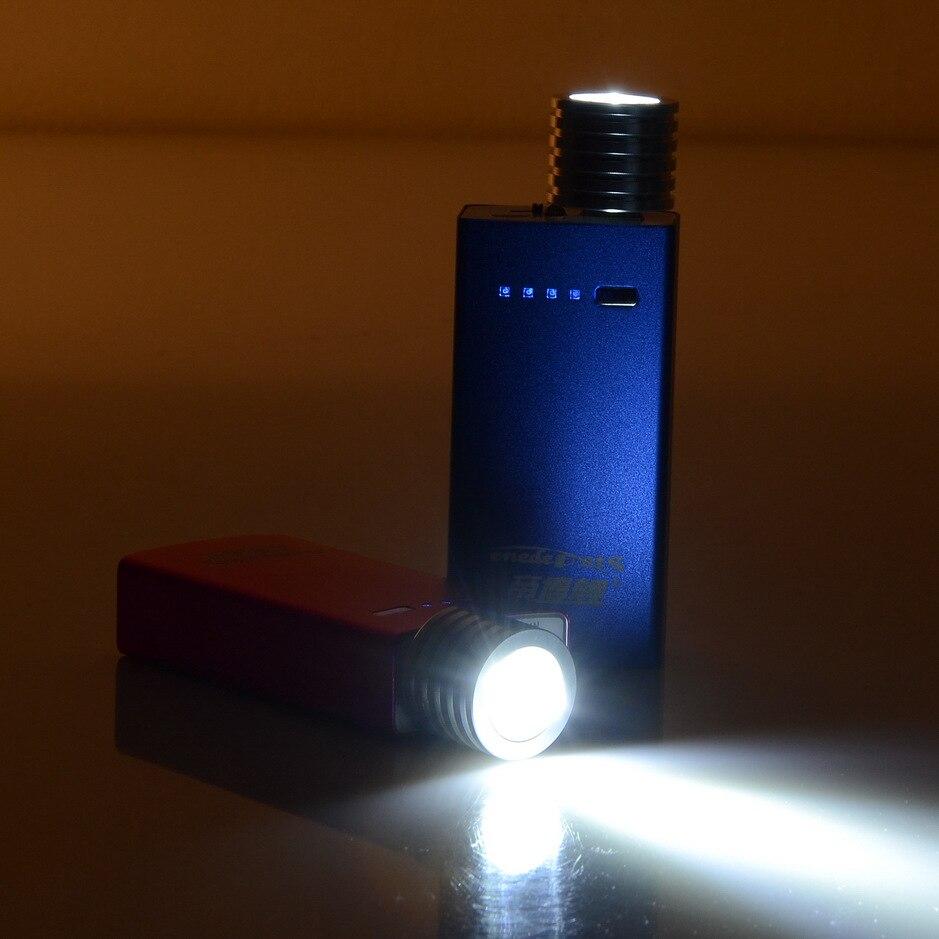 2 Вт алюминиевый мини USB LED Свет Портативный Прожектор круглый 27 мм портативный