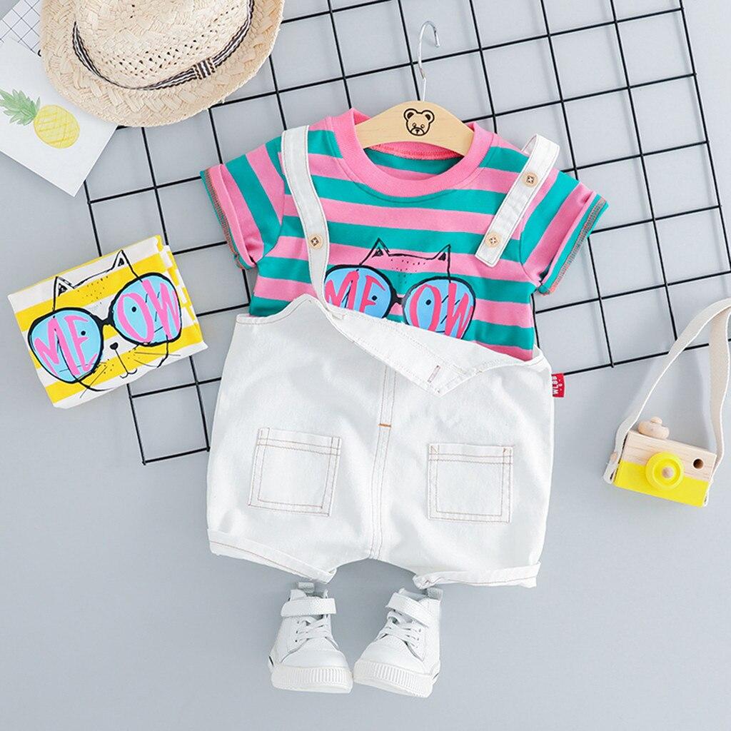 Комплекты одежды для мальчиков коллекция 2019 года летний комплект маленьких