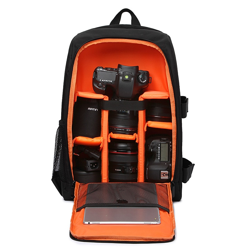 Многофункциональный водонепроницаемый цифровой DSLR фото мягкий рюкзак с дождевой крышкой для камеры мягкая сумка для ноутбука видео чехол ...
