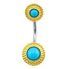 Nombril or piercing nombril piercing nombril anneau piercing ventre acier chirurgical nombril ventre anneau indien mode bijoux femmes