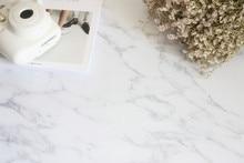 46*55 cm arrière-plan de photographie imperméable à leau de qualité supérieure en marbre PVC fond de Texture pour les bijoux alimentaires Mini articles