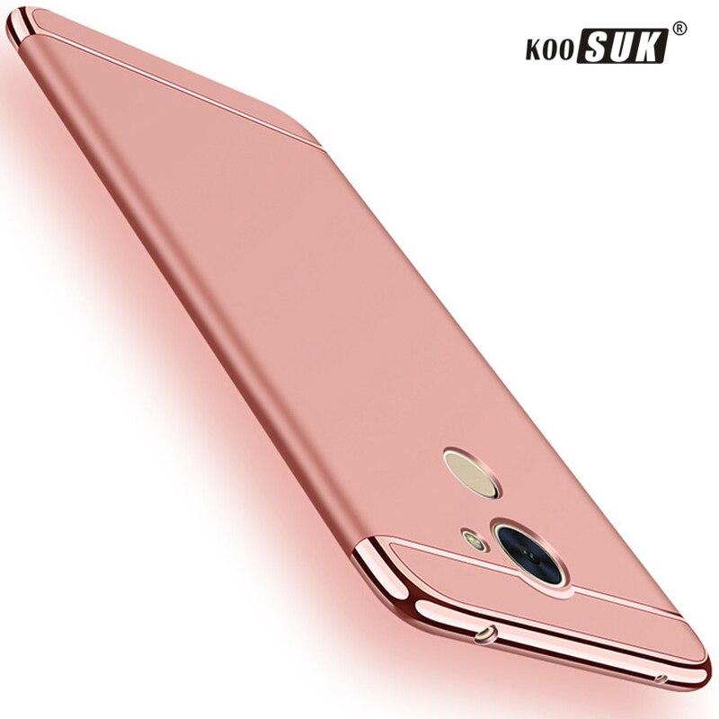 Huawei Y7 2017 Phone Case Back Cover Koosuk Original Hard Plastic Protect Bag For Huawei honor Y 7 Prime 5.5'' Rear Shell Fundas