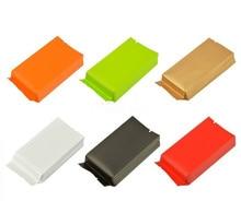 100pcs/lot-10.5*5*2cm,12*5.5*2.5cm Kraft paper Bags with Foil Lining Pollen Tea Storage Seal Pockets Food Packaging Gift Bag