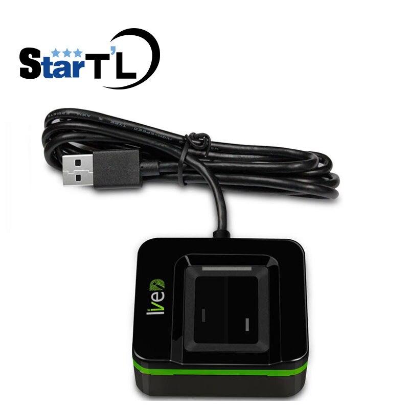 Сканер отпечатков пальцев ZK Live 20R USB, сканер отпечатков пальцев ZK live ID USB, датчик отпечатков пальцев, защита от подделки