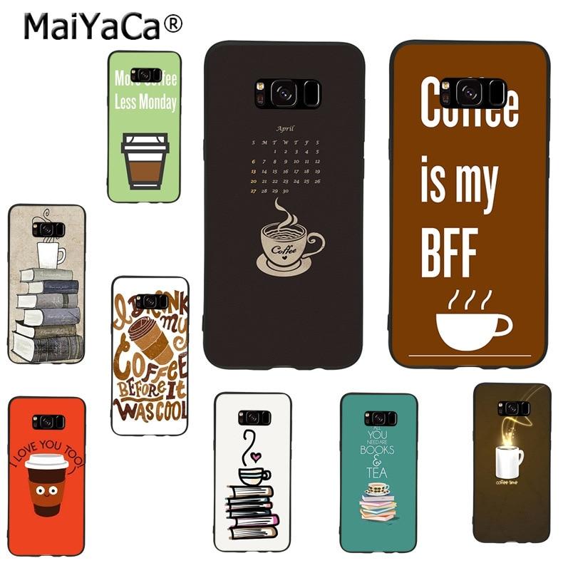 MaiYaCa funda de teléfono de tpu suave para samsung galaxy note 8 4 5 s7edge s6 s8 s9 plus