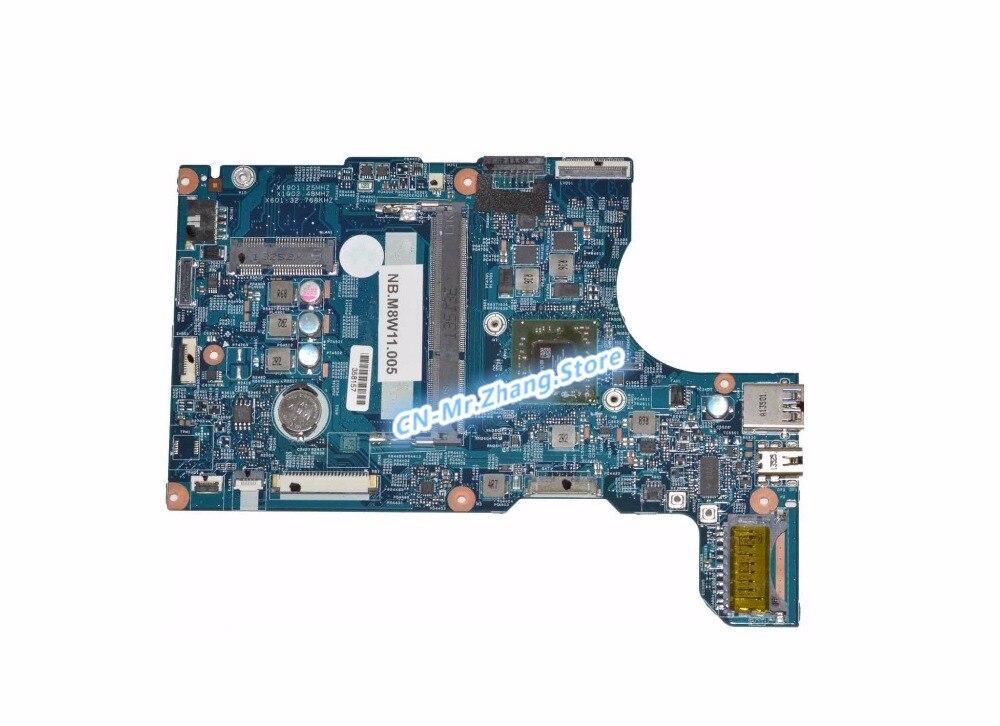 SHELI لشركة أيسر أسباير V5-122P اللوحة المحمول W/ل A4-1250 CPU NBM8W11005 ملحوظة. M8W11.005 48.4LK02.031 DDR3
