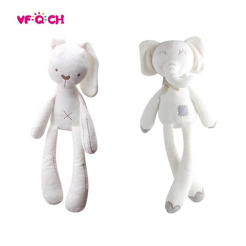Plüsch Niedlichen Kaninchen Stofftier Spielzeug Beschwichtigen Schlafen Weichen Bunny Bär Puppen Für Kinder Kinder Baby Geburtstag Kawaii Geschenk