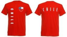 Chili T-Shirt hommes footballeur Legend Soccers Jersey 2019 nouveau manches courtes haut décontracté T-Shirt 100% coton T-Shirt