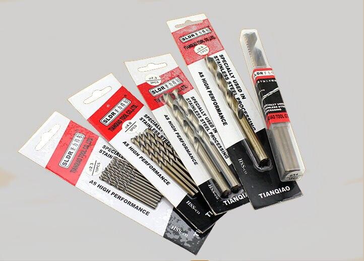Brocas HSS-CO M42 de 5,1mm-7,5mm para taladro de acero inoxidable de alta velocidad y cobalto (5,2/5,5/5,8/6,0/6,5/6,8/7,0mm/7,2mm) 2 uds.