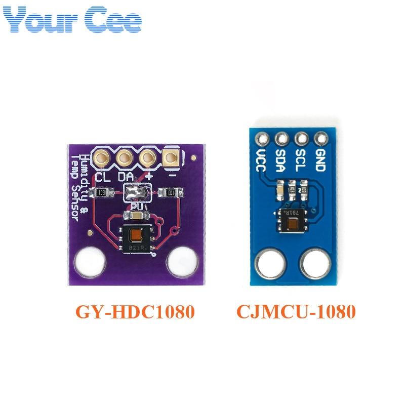 HDC1080 Módulo de Sensor de temperatura y humedad Sensor de alta precisión GY-213V-HDC1080 CJMCU-1080 HDC1080 módulo DIY electrónica