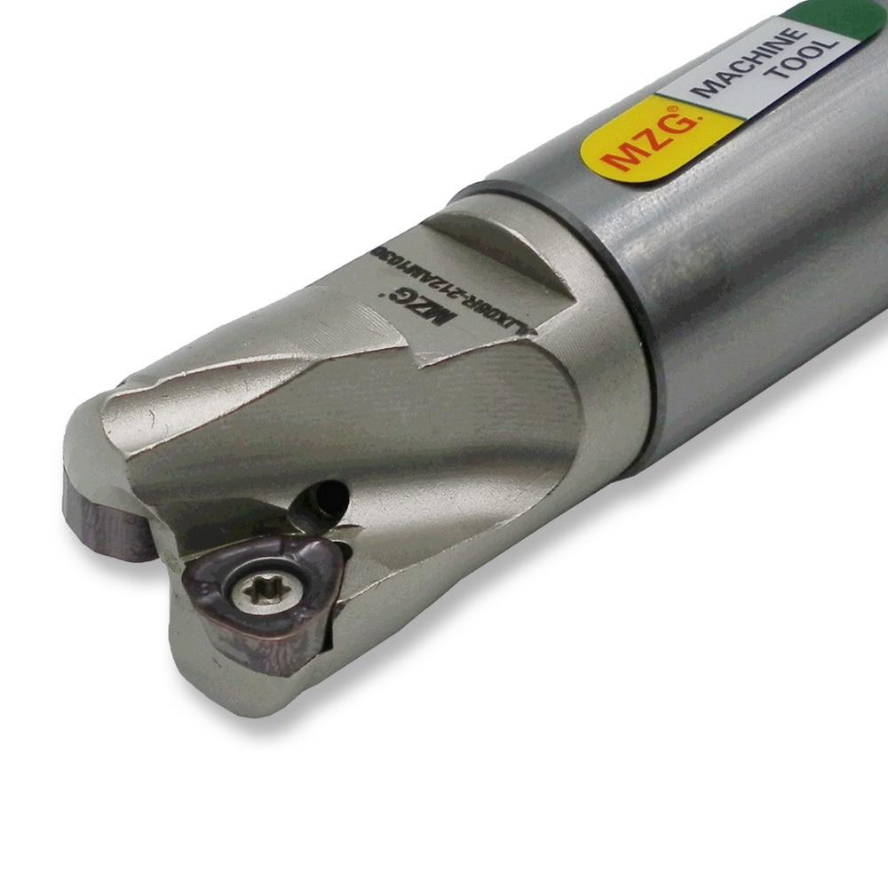MZG AJX06RC16-17-150-2T фреза с двумя твердосплавными вставками, Зажимная фреза для быстрой подачи, торцевая фреза из сплава