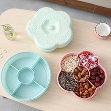 Home Plum-shaped melon seed tray candy box fashion fruit plate 27.5*8cm
