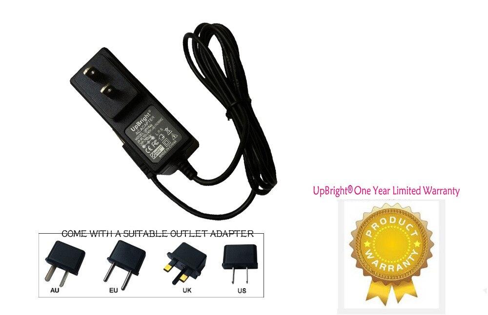 UpBright nuevo adaptador AC/DC para Sangean ATS-803A comunicaciones Radio PLL sintetizado banda mundial receptor cargador de fuente de alimentación