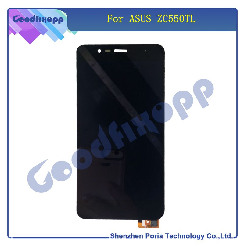Mobile Phone LCDs For Asus ZC550TL LCD Display Touch Screen Digitizer Assembly With Frame Replacemen