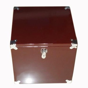 Caja de madera ligera y pesada para trucos de Magia de MC, caja de madera para mago profesional, accesorios para trucos de ilusionismo, comedia