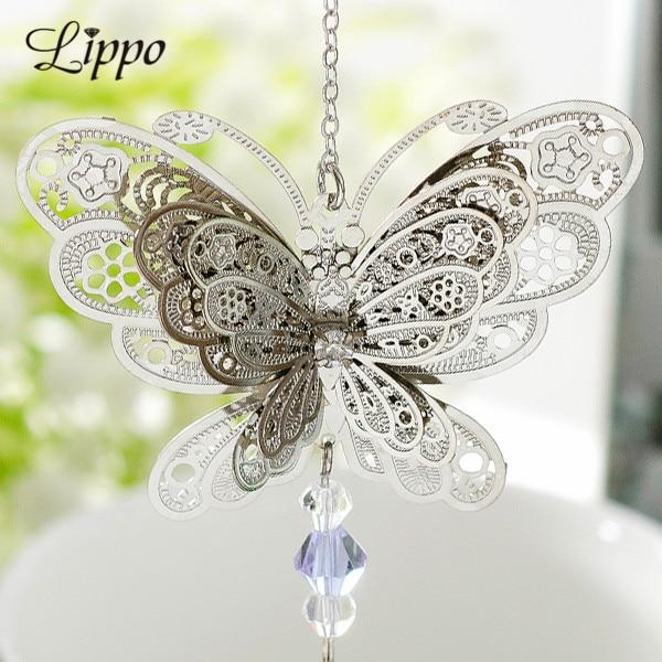 10 шт. филигрань 3D Подвески в виде бабочки, латунные подвески, соединители для украшений, нарезные украшения, фурнитура для макияжа, аксессуа...