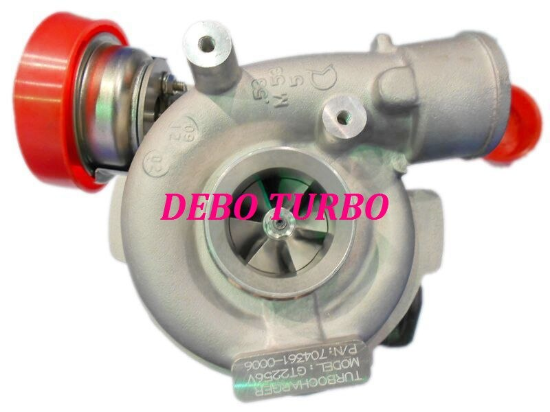 NOVO GT2256V/704361-5006 S turbo Turbocharger para 330D E46, X5 E53 3.0D, M57 D30 3.0L CV 1999-2003