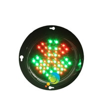 DC12V nouveau design personnalisé modèle 100mm 4 pouces lampe à LED mini croix rouge vert flèche module de feu de signalisation