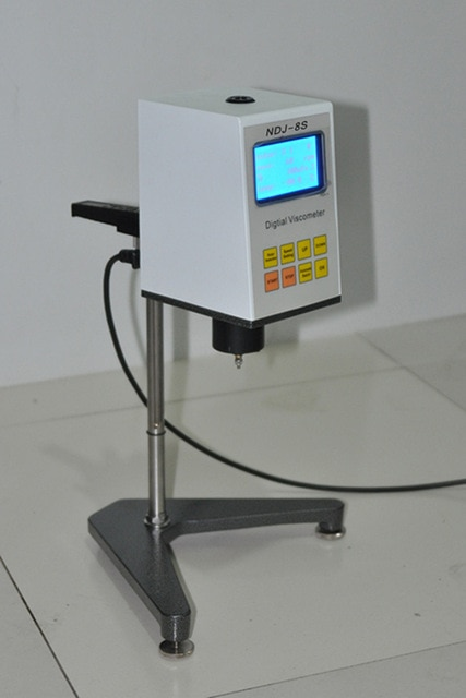 الرقمية الروتاري مقياس اللزوجة NDJ-8S Viscosimeter 1-2000000 mPa.s قياس اللزوجة المطلقة من النيوتونية السائل