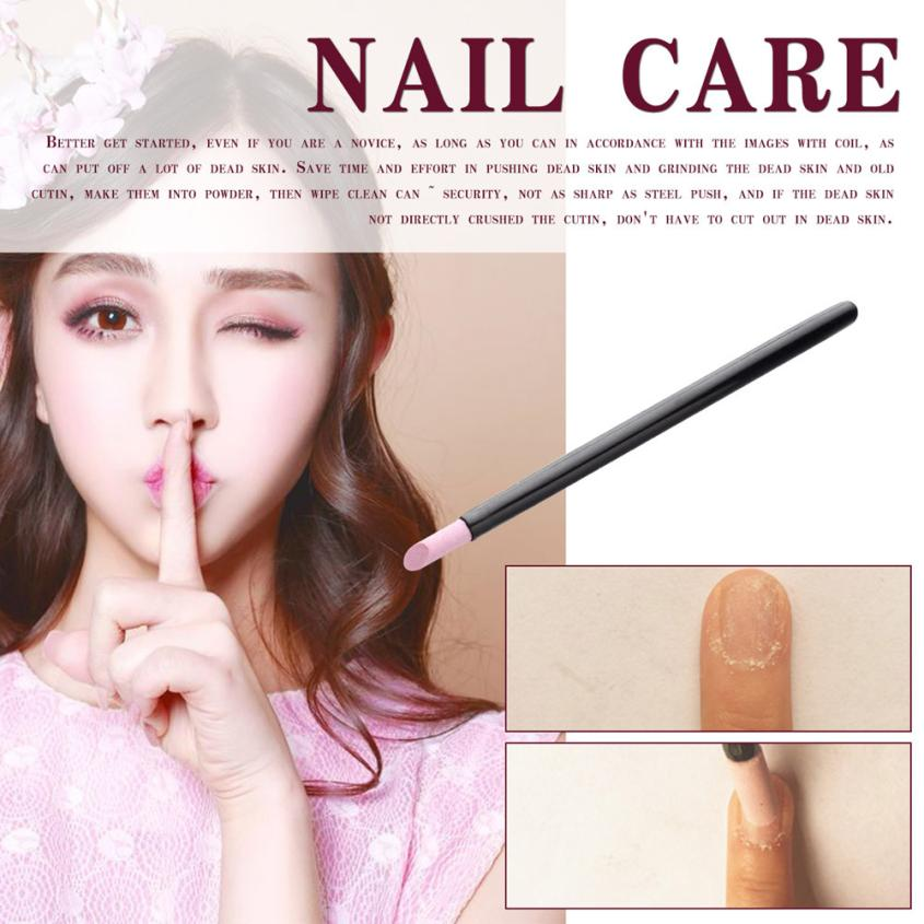 Quartz Powder 1 PC Professional Nail Art Polishing Pen Cuticle Removing Quartz Manicure Tool Nail Tools Hot Sale  1A7