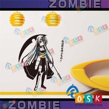 Euclide-Stickers muraux dhercule Anime   Stickers muraux en bois collants pour dortoir périphérique voiture, dessin animé
