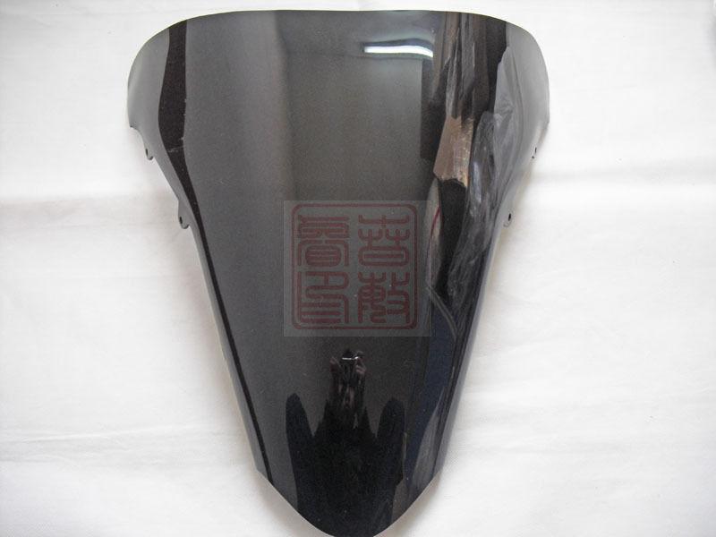 Parabrisas/parabrisas negro para motocicleta Honda VFR800 VFR 800 2002-2012