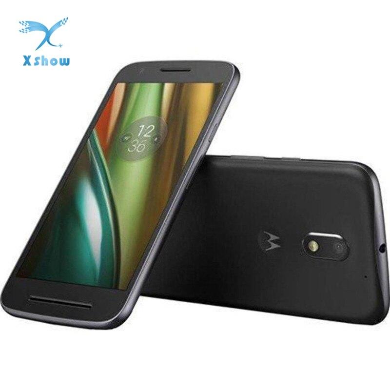 Teléfono Inteligente Motorola Moto E3 power, pantalla de 5,0 pulgadas, 2GB RAM, 16GB rom, CPU MT6735, Quad Batería Central, batería de 3500mAh, Android 6, 4G LTE, cámara de 8,0 MP + 5,0mp, cámara de 1280x720