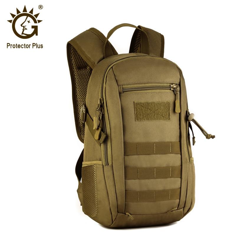 מגן בתוספת 12L טקטי MOLLE תרמיל ילדים עמיד למים קטן תרמיל ילקוטי צבאית תרמיל תקיפה חבילה