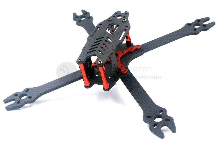El más nuevo DIY FPV cross racing mini drone F2 mito 210 fibra de carbono puro quadcopter marco sin montar
