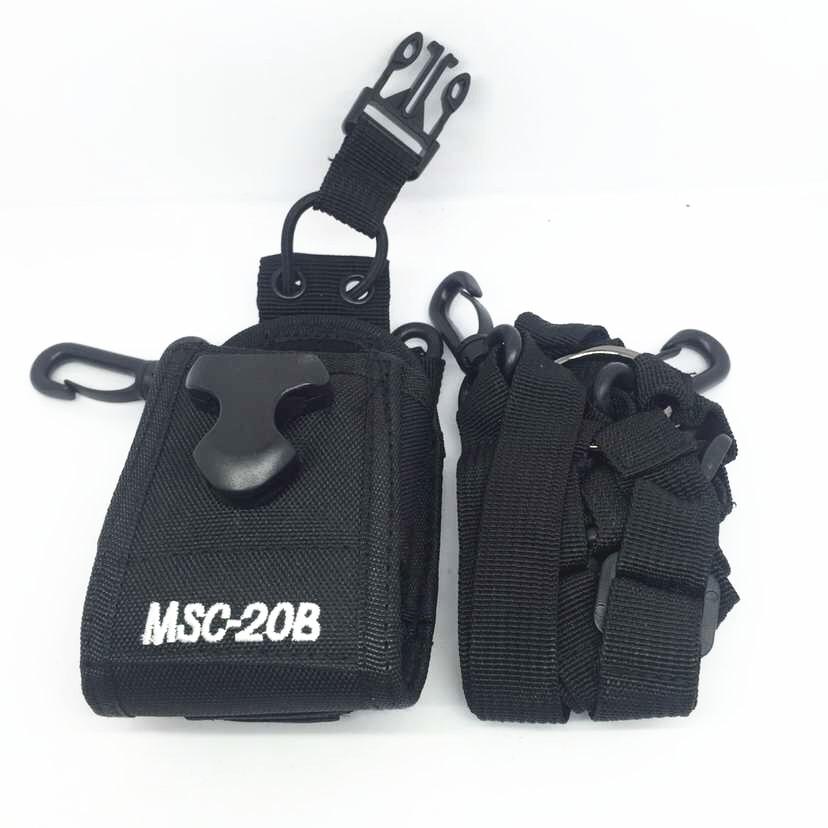 Oppxun chaqueta de Nylon MSC-20B funda, soporte bolsa de radio Para Kenwood tk3107 tk 3207 Baofeng de radio CB UV-5R UV-5RE UV-B5 888 UV82