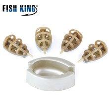 Приманка для ловли карпа FISH KING, 4 шт./лот, Plan A 15-45G Plan B 35G-65G, приманка-фидер, рыболовные принадлежности для ловли карпа