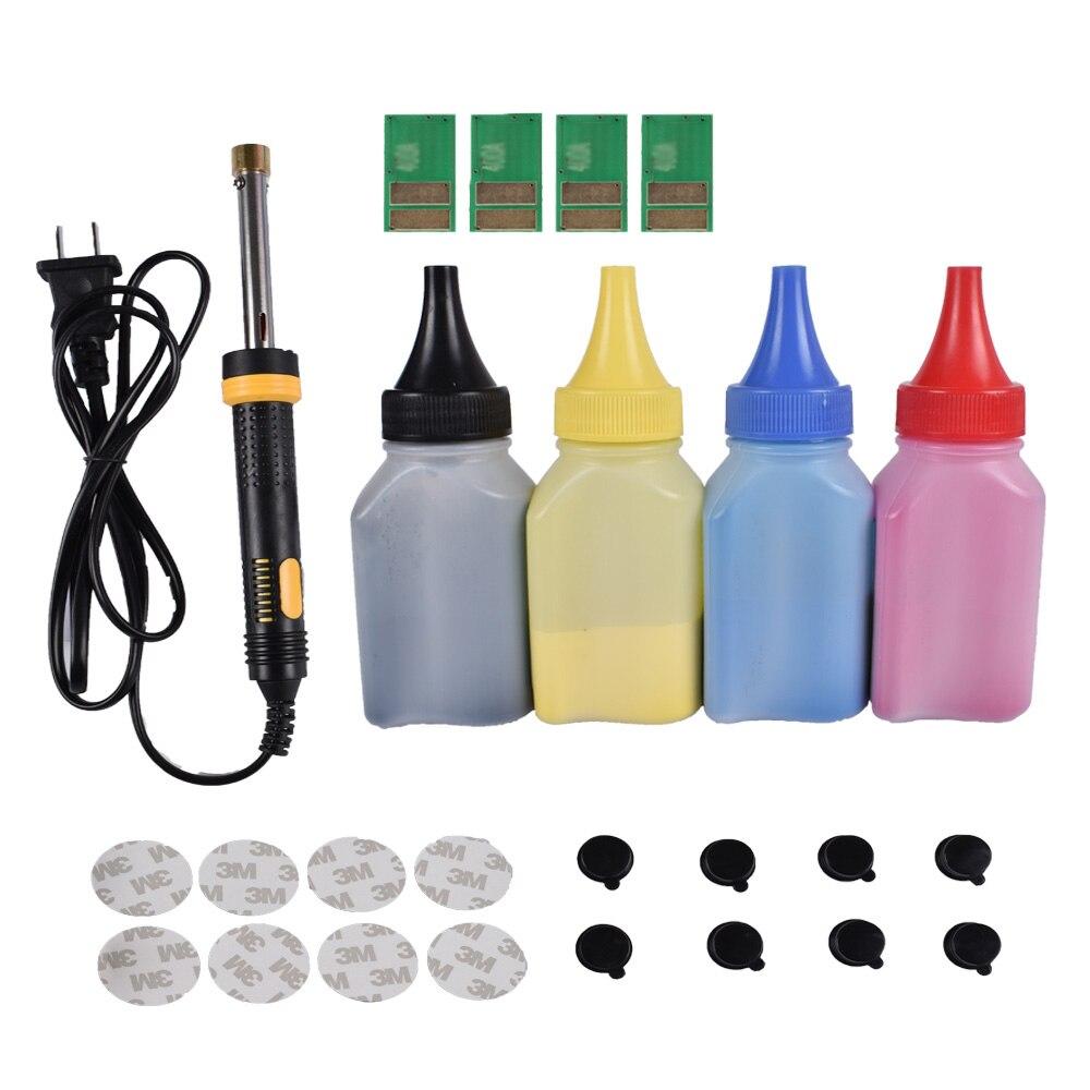 مجموعة أدوات خرطوشة الحبر + 4 قطعة لخرطوشة HP CF510A 204A ، خرطوشة ليزر جيت برو M154nw 154a M180nw180n M181fw