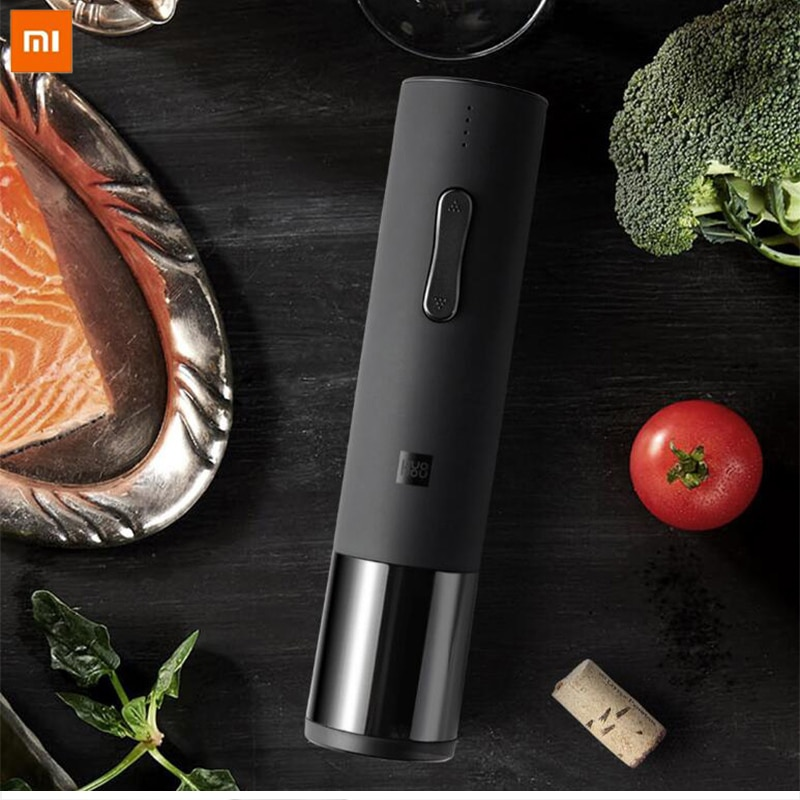 Оригинальный автоматический штопор Xiaomi для бутылок вина, Электрический штопор с фольга резак для xiaomi красное вино умный дом наборы продукт...