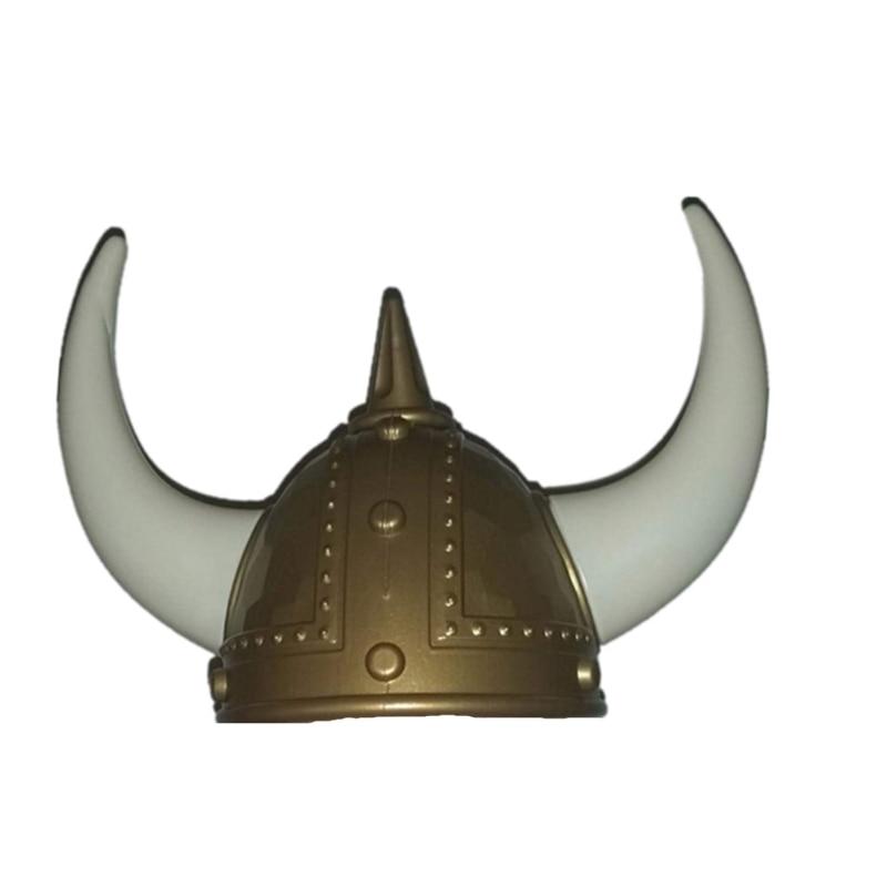 Novelty Viking Helmet Pirate Halloween Costumes Hat Festival Party Strange Hat Photo Props Kids Toy Gags Practical Jokes
