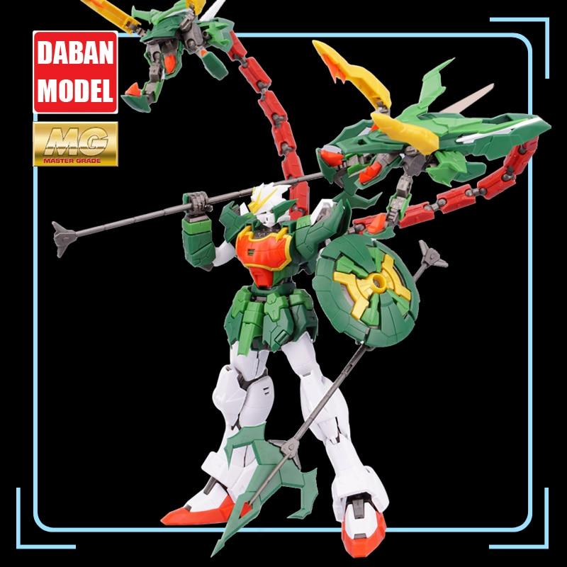 Super Nova XXXG-01S2 Green Double-headed Dragon Altron Gundam Model Kit MG 1/100 Action Figure Assembly Toy Gift Water Sticker