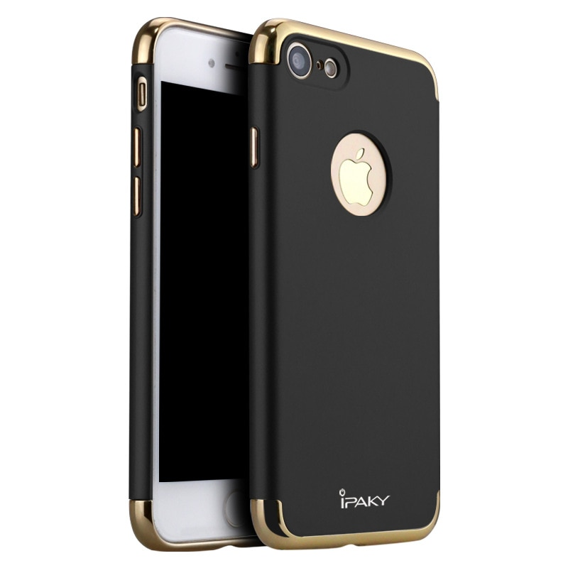 100% Оригинальный IPAKY брендовый классический жесткий пластиковый чехол 3 в 1 для iphone 7 и iphone 7 plus, роскошный пластиковый чехол