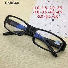 TinffGan-lunettes optiques pour la vue   Lunettes de vue myopie pour hommes et femmes, verres de prescription 2019 pour la vue-1-1-1.5-2-2.5-3-4 5-6