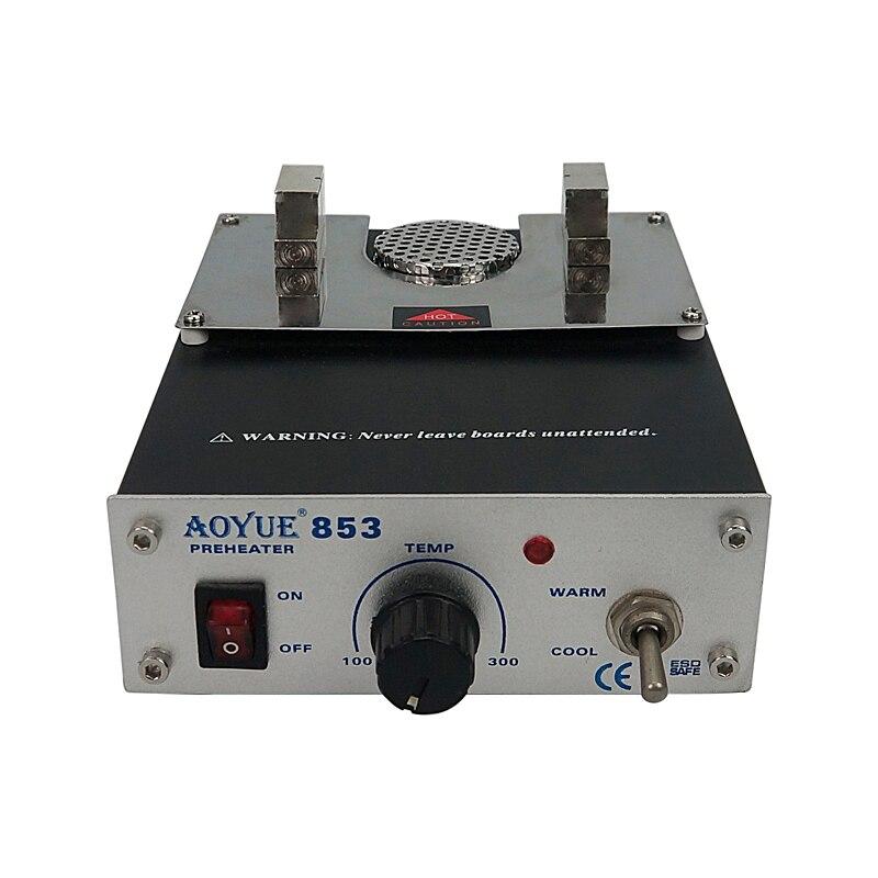 Aoyue 853 ESD محطة تسخين مدمجة آمنة مع ضبط درجة حرارة متغيرة