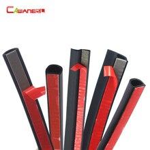 Уплотнительная лента Cawanerl, резиновая уплотнительная полоска для капота и багажника автомобиля, 2 метра, уплотнение для кромки, звукоизоляция