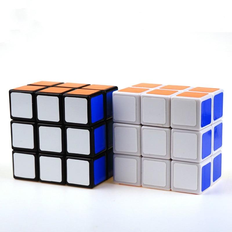 Gran oferta 2X3X3 233 negro blanco 3x3x2 cubo mágico Cubo de velocidad Twist Puzzle juguete rompecabezas y regalo para sus hijos